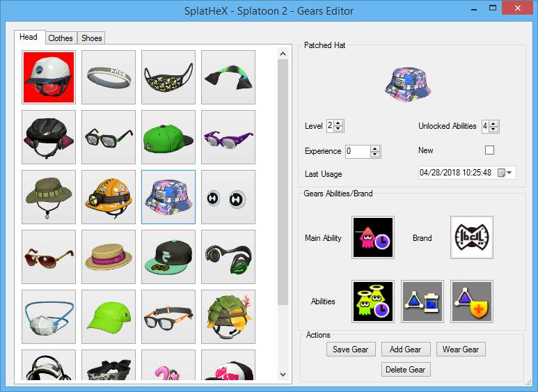 SplatHeX - A Splatoon Save Editor